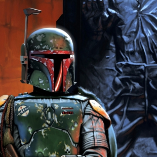 Boba Fett and Trophy