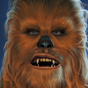 Chewbacca Portrait