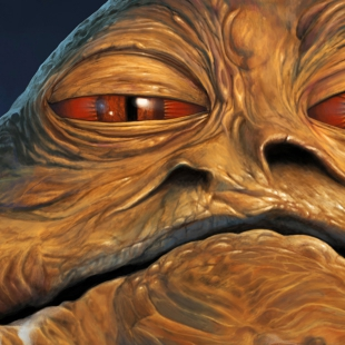 Jabba the Hutt Portrait