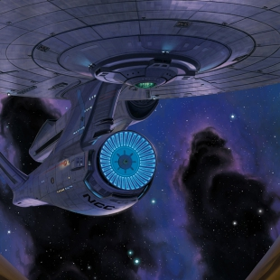 NCC 1701 Enterprise Breakthrough