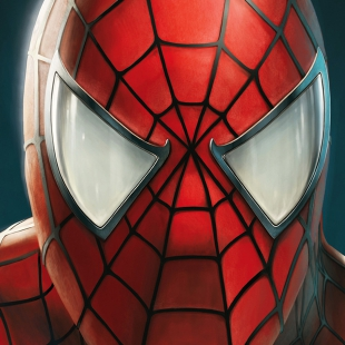 Cassic Spider Man Portrait
