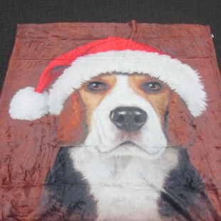 Just Funky Beagle Santa