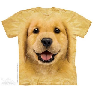The Mountain Golden Retriever Puppy Big Face ®